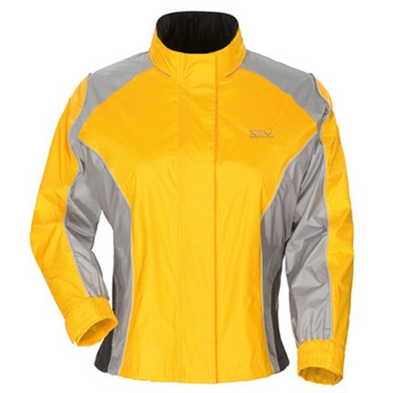 Sentinel Womens Rainsuit Jackets - Tourmaster Sentinel Womens Yellow Rainsuit Jacket - Plus Medium