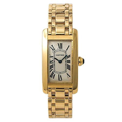 Cartier Tank Americaine quartz female Watch 1710 (Certified Pre-owned) (Watch Women Cartier Tank)