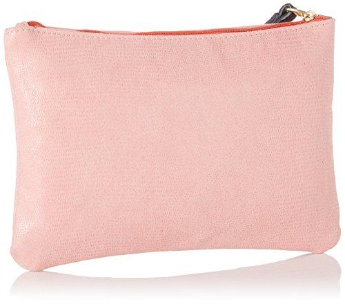 Bensimon Damen Zipped Pocket Clutch, 0.5x15.5x22 centimeters Mehrfarbig (Feuillage)