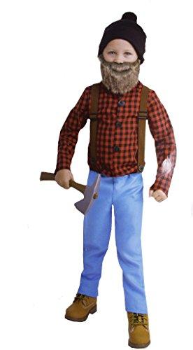 Lil' Bearded Boys Lumberjack Costume (Lumberjack Costume Toddler)