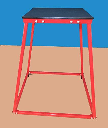 Plyometric Steel Platform 36''H - for Plyometric Jumping Exercises by TDS