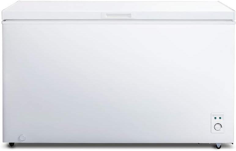 CHiQ Congelador FCF400D, 400 litros, color blanco, bajo consumo A+, 40 db, 12 años de garantía en el compresor