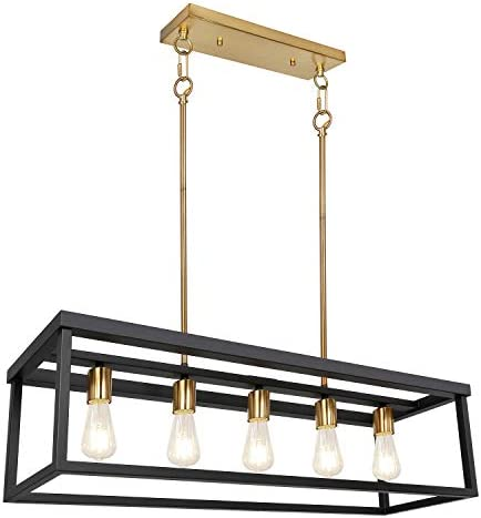 5-Light Kitchen Island Pendant Lighting