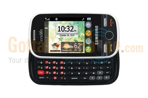 Alltel Samsung Messager Touch R631 No Contract QWERTY Camera 3G Blue Cell Phone