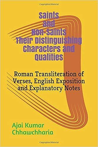 Amazon com: Saints and Non-Saints Their Distinguishing Characters