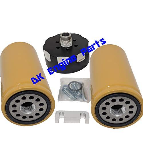 duramax fuel filter adapter - 6