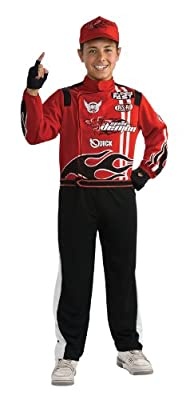 Rubies Deluxe Race Car Driver Costume - Small 3-4 by Rubies - Domestic