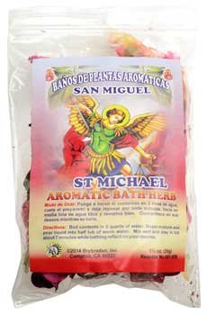 1 1/4oz St Michael (San Miguel) Aromatic Bath Herb (San Miguel Salt)