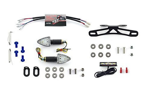 yamaha all years fz6r pod signal kit  fender eliminator  plate light  and resistors bundle  u2013 get