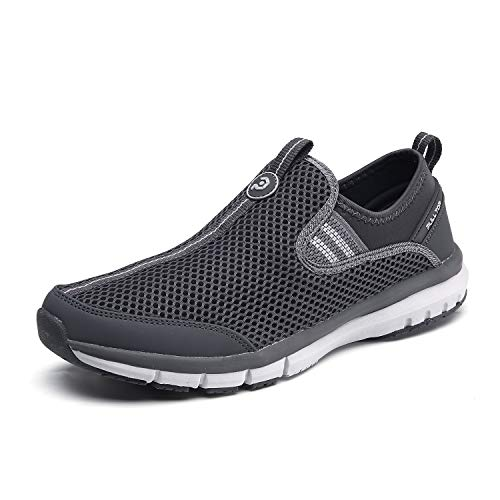 Men's Casual Slip-on Shoe and Good air Permeability Light Comfortable Soft Soles.