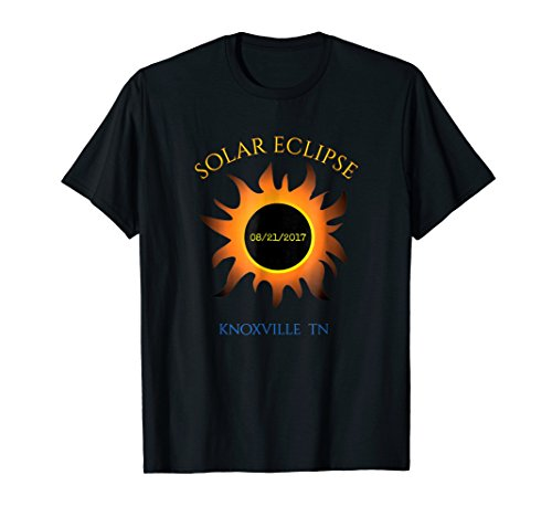 Knoxville TN Solar Eclipse t-shirt Tennessee tee -