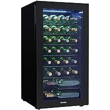 Danby DWC032A2BDB 36 Bottle Wine Cooler, Black