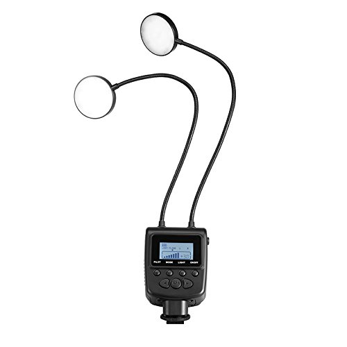 Polaroid LED Macro Flash Flexi Light with Twin Flexible Antennas
