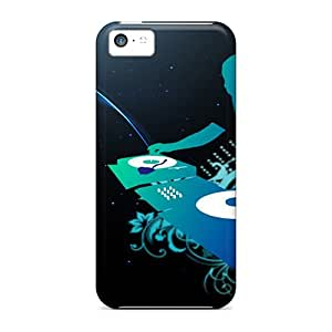 New FvoHqGt749AnZiW Dj Live On Stage Skin Case Cover Shatterproof Case For Iphone 5c