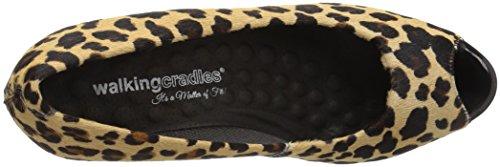 Print Pump Hair Cradles Leather Calf Black Walking Women's Tigress Dress 7xnIpq78Uw