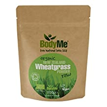 BodyMe Organic New Zealand Wheatgrass Powder | 50 g | Soil Association Certified