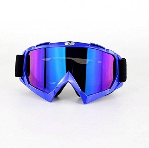 esquí a Terreno Equipo de F Gafas Prueba Exteriores explosiones Impermeables Antipolvo de y PC Caballero 4ZwpTS