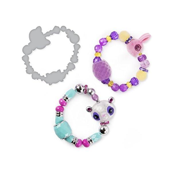 Twisty Petz - 3-Pack - Glitzy Panda, Fluffles Bunny and Surprise Collectible Bracelet Set for Kids