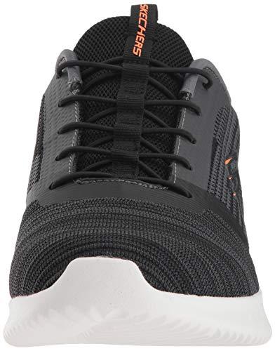 Zapatillas Negro Hombre Para Skechers Bounder Iwpq55