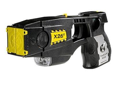 Taser X26C or stun gun for women and men