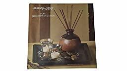 San Miguel Soho Reed Diffuser Set With Candles, River Rocks, Essential Home Essence