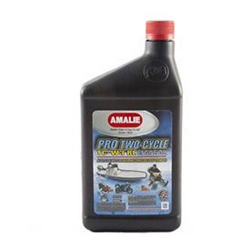 - Amalie (62736-56) TC-W3 RL Pro High Performance Two-Cycle Motor Oil - 1 Quart Bottle