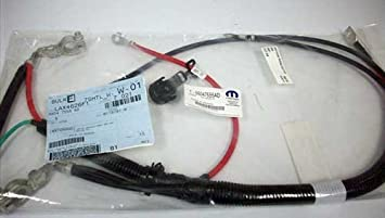 41WWt8NqoIL._SX355_ amazon com mopar 5604 7555ad, battery cable harness automotive 2000 jeep grand cherokee battery wire harness at cos-gaming.co