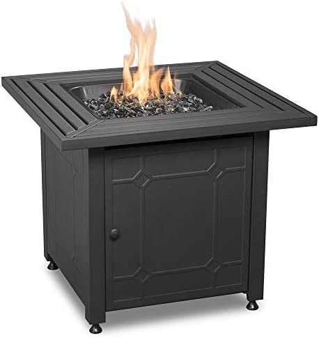 Endless Summer GAD15257SP Lp Gas Outdoor, Black Fire Table, One Size