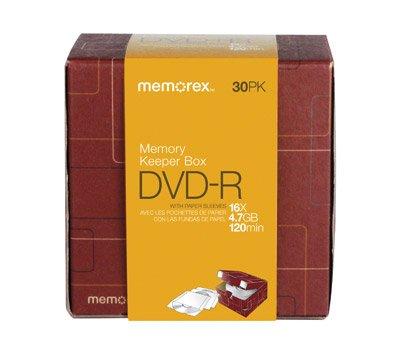 Memorex DVD-R 16X 30Pk D�cor Box