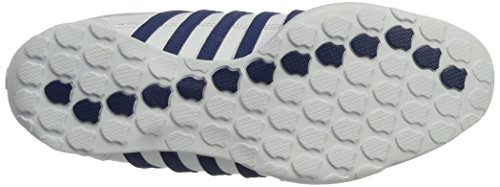 Sneakers Uomo K-swiss In Pelle A Righe Bianche (bianco / Blu Scuro)