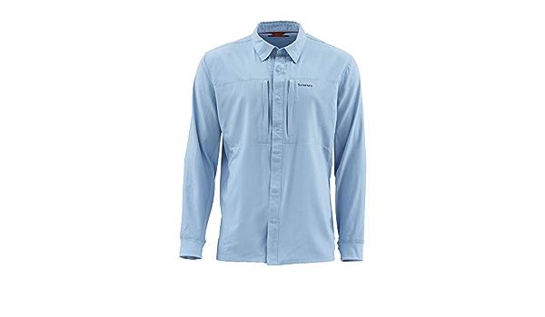 Simms Intruder BiComp - Camisa vaquera desteñida: Amazon.es ...