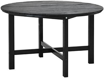 Tavoli Legno Da Giardino Ikea.Ikea Rotondo Di Legno Tavolo Da Giardino Aengsoe In Legno