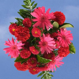 GlobalRose 2 Passionate Red Bouquets - Fresh Flowers Delivery