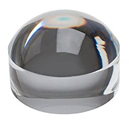 Hunter Optics 2.5 Inch Dome Magnifier Magnifying Glass Dome for Reading