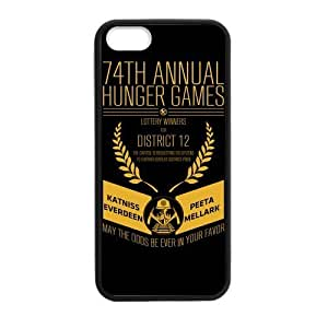 Custom Hunger Game New Laser Technology Back Cover Case for iPhone 4s CLT977