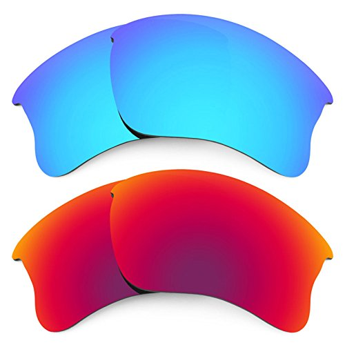 Revant Replacement Lenses for Oakley Flak Jacket XLJ 2 Pair Combo Pack - Jacket Flak G30