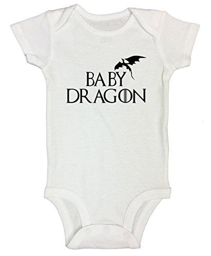 Newborn Onesie Thrones Kids Dragon