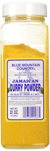 Curry Powder Spice - Blue Mountain Country Curry, 22 Ounce