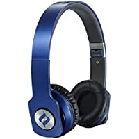 Noontec ZORO HD On Ear Headphone Audiophile Sound High Definition Audio Exclusive SCCB Acoustic Technology Foldable and Light Weight - Blue