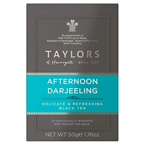 Taylors of Harrogate Afternoon Darjeeling, 20 Teabags (Pack of - Afternoon Darjeeling Tea