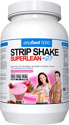 Diet Protein Powder Shakes Weight Loss Support for Men & Women (Strawberry, 907g)