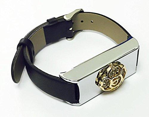 Leather Rhinestones Ornament Wireless Activity