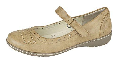 Rivestiti Di Uk Da In Estivi 3 8 Sandali Donna Tan Gamma Taglie Pelle Colori pZwRxq