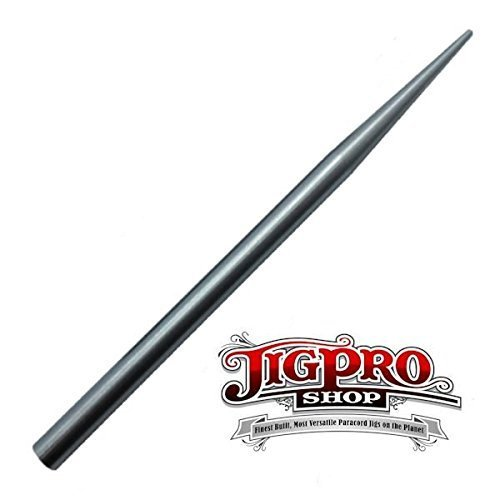 (2 Pack) of Jig Pro Shop Stainless Steel 3 1/2 550 Type III Paracord Fid, Lacing, Stitching Needles (Color: 2 Pack 3 1/2 Stainless Steel)
