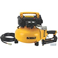 Deals on DEWALT 18-GA Brad Nailer 6 Gal. Pancake Compressor