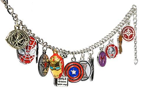 x-costume Avengers 4 Bracelets Infinite Wars Unlimited Gambles Marvel Full Heroes Men and Avengers Endgame Bracelet for Couples]()