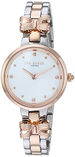 Ted Baker Women's 'AMY' Quartz Stainless Steel Casual Watch, Color:Two Tone (Model: TE50007001)