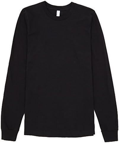 American Apparel - Camiseta de Manga Larga algodón Modelo Plain ...