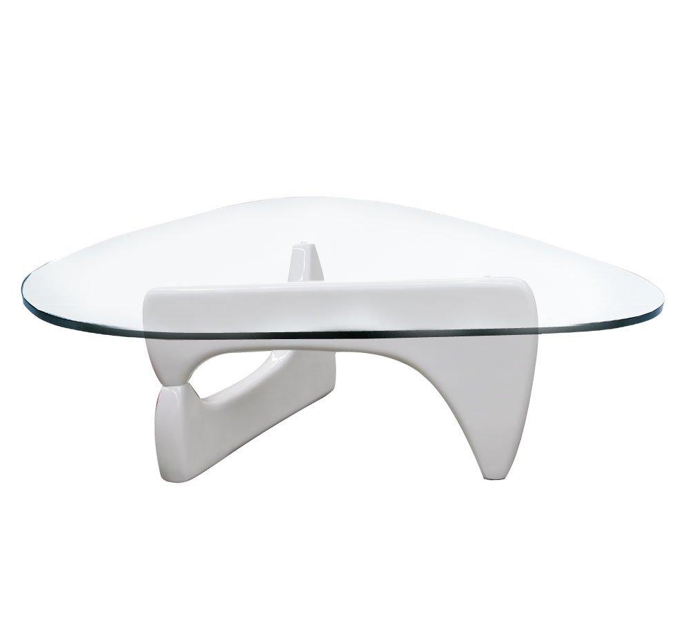 Noguchi Coffee Table Base Isamu Noguchi Stlye Coffee Table With Ash Wood Base Amazoncouk