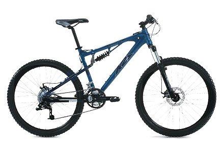 Amazoncom K2 Attack 10 Mens Dual Suspension Mountain Bike 26